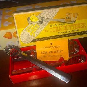 Vintage Corn Butterer set by Viking Impirtrade